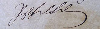 Frederick William I of Prussia - Image: Friedrich Wilhelm I. (Preußen) signature