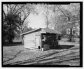 Front and south side - Railey-Hall, Shed, State Highway 3-U.S. Highway 19 at Croxton Cross Road, Sumter, Sumter County, GA HABS GA-15-C-1.tif