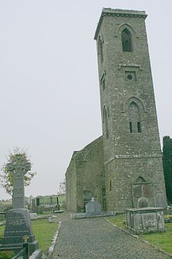 Fuerty church and graveyard