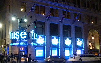 Fuse (TV channel) - Fuse studios on Seventh Avenue across from Madison Square Garden.