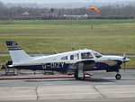 G-DIZY Piper Turbo Cherokee Arrow (26099439255).jpg