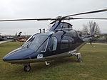G-IOOK Agusta A109 Helicopter Hundred Percent Aviation Ltd (25463420573).jpg