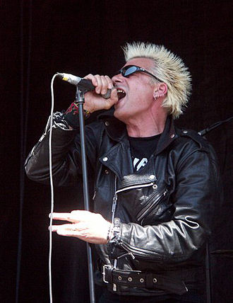 Charged GBH - GBH performing on a Warped Tour