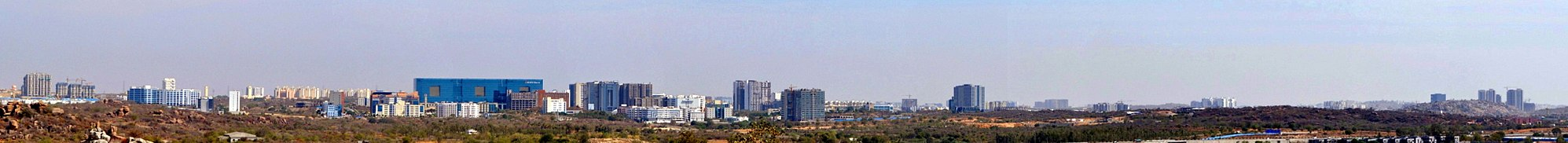 Gachibowli IT suburb