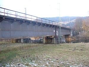 Stuttgart–Hattingen railway - The Gäubahn crosses the Danube near Tuttlingen