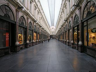 Galeries Royales Saint-Hubert - Royal Galleries of Saint-Hubert