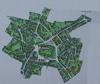 Gammelstad Church Town - Image: Gammelstads kyrkstad