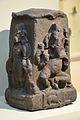Ganesha on Face of Chaturmukha Linga - Black Stone - Circa 10th Century CE - Bihar - ACCN 3830 - Indian Museum - Kolkata 2015-09-26 3906.JPG