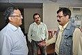 Ganga Singh Rautela And Subhabrata Chaudhuri Discusssing With Arvind Paranjpye - Professional Enrichment Programme On Astronomy Awareness - NCSM - Kolkata 2011-09-22 5645.JPG