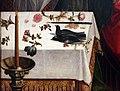 Garcia fernandes, presentazione di gesù al tempio, 1538, 02 offerte su altare, fiori e colombi.jpg