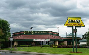 Garden Home–Whitford, Oregon - Sharis restaurant in the community