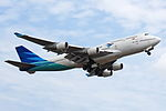Garuda Indonesia Boeing 747-400 take off from Ngurah Rai Airport.jpg