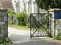 Gates of Holy Trinity Church, Bosham - geograph.org.uk - 1371569.jpg