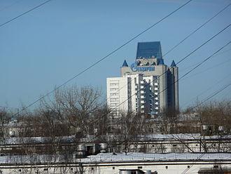 Gazprom - Gazprom Headquarters in Moscow