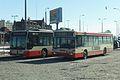 Gdańsk Śródmieście 2 autobusy miejskie Mercedes.JPG