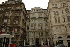 Friedrich Torberg - Friedrich Torberg's birthplace in Vienna, Porzellangasse 7a