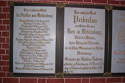 Gedächtnistafel Pribislaws im Doberaner Münster.jpg