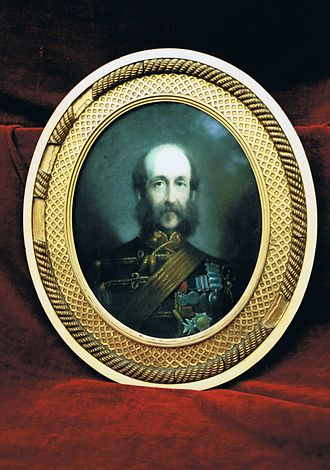 8th King's Royal Irish Hussars - General De Salis, veteran of the Crimean campaign and sometime Colonel of the Regiment.