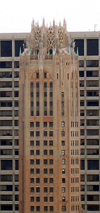 Cross & Cross - General Electric Building from the southeast