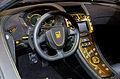Geneva MotorShow 2013 - Spania GTA Spano steering wheel.jpg