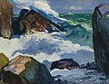 George Bellows - Sunlit surf, 1913.jpg