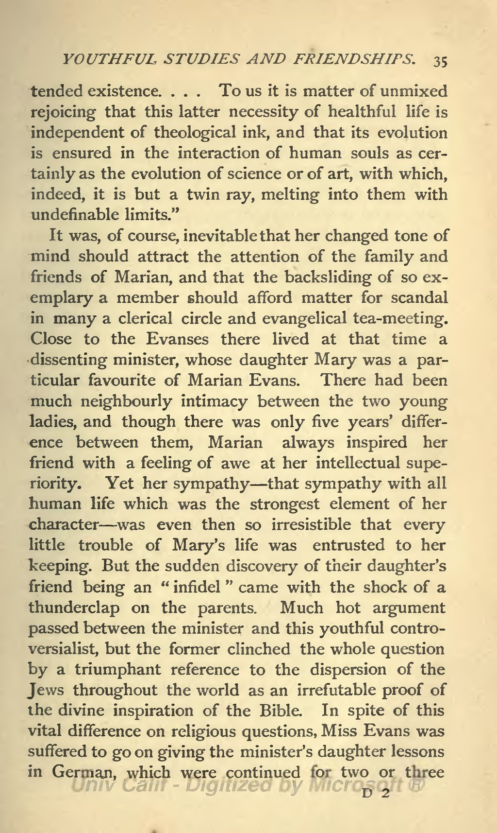 the general views of author george eliot on religion and community As a young man silas marner shut himself off from and general readers alike with its sure that her books were taken seriously as george eliot.