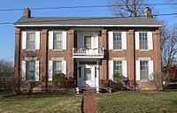 George M. Willing house (Fulton, MO) from E 1.JPG