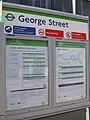 George Street tramstop signage.JPG