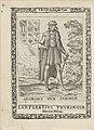 George van Saksen, erfpotestaat van Friesland Georgius dux Saxoniae (titel op object) Koningen en Potestaten van Friesland (serietitel) Frisia, sev, de Viris (serietitel op object), RP-P-OB-50.599.jpg