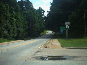 Georgia State Route 5 - SR 5 in Douglas County