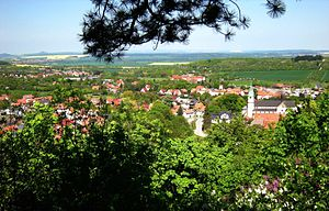 Gernrode - View from the Harz mountains
