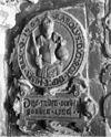 gevelstenen in het portaal - dordrecht - 20060286 - rce