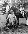 Gifford Pinchot and Cornelia Bryce Pinchot, with son Gifford Bryce Pinchot and an unidentified boy, circa 1918.jpg