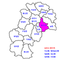 Gimcheon map-Nongso-myeon.png