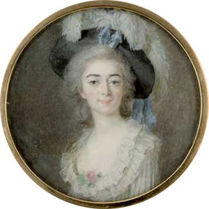 1783 in Sweden - Giovanna Bassi.