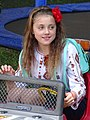 Girl at the Wheel - Kolomiya - The Carpathians - Ukraine (27287706135) (2).jpg