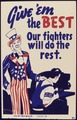 Give `em the best. Our fighters will do the rest - NARA - 534970.tif