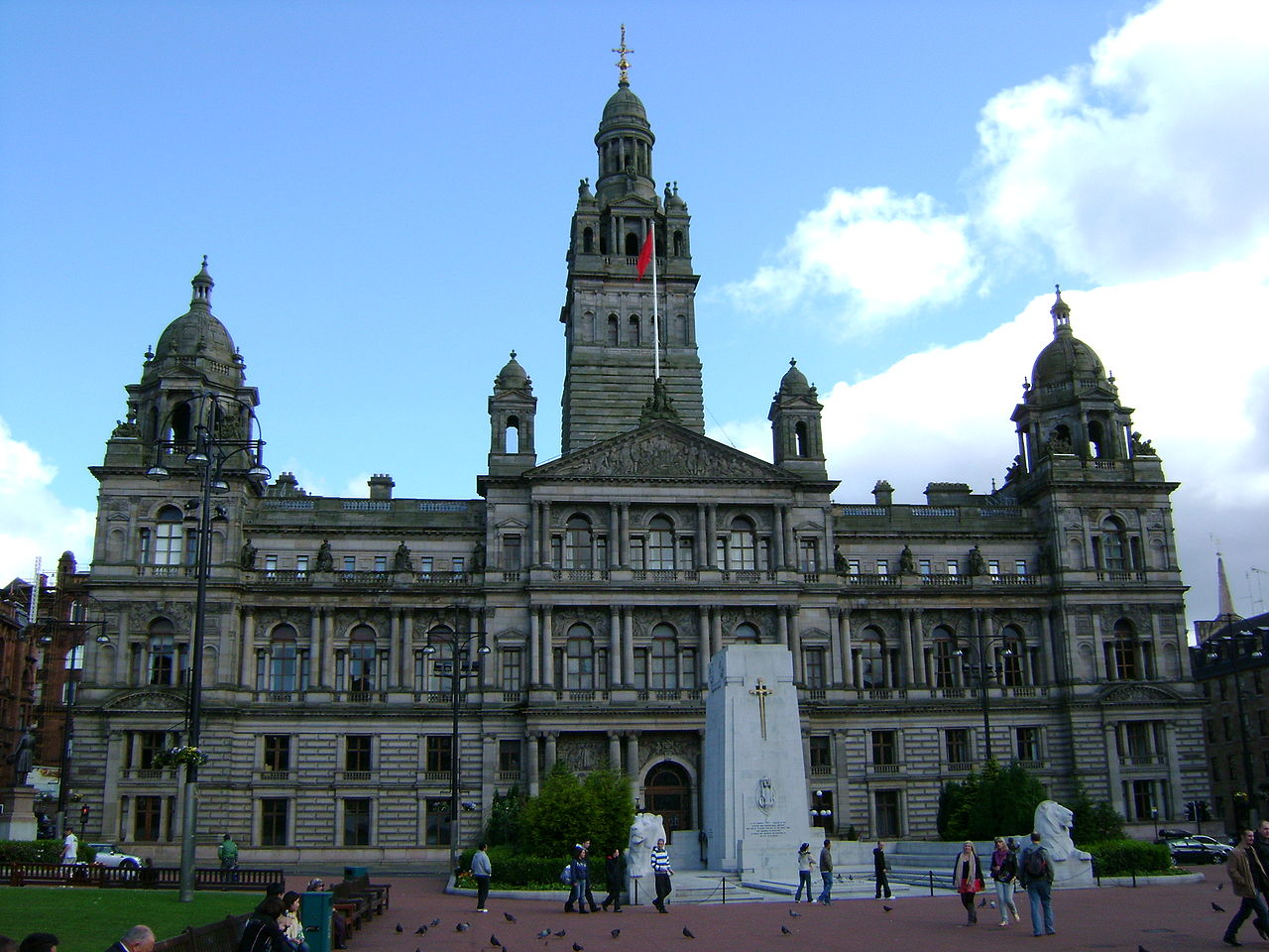 file glasgow city chambers wikipedia. Black Bedroom Furniture Sets. Home Design Ideas