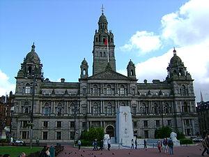 English: Glasgow City Chambers, George Square,...
