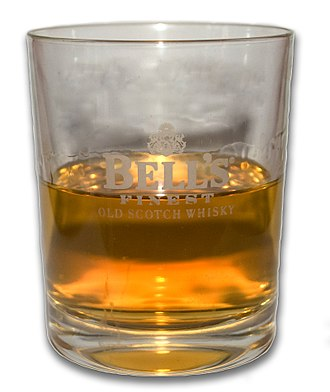 Scotch whisky - Image: Glass of Bell's
