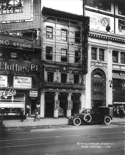 File:Globe Theatre, Broadway.jpg