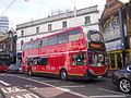Go-Ahead London E283 on Rail Replacement, West Croydon (13514468594).jpg