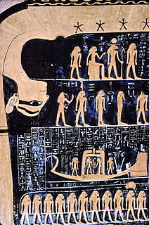 <i>Book of Nut</i> Collection of ancient Egyptian astronomical texts