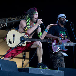 Gogol Bordello на Rock in Rio Madrid 2012