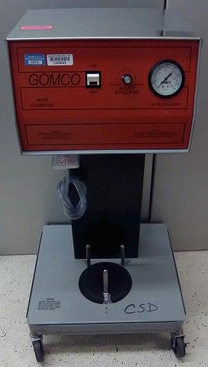 Aspirator (medical device) - The contemporary Gomco 4040 Aspirator