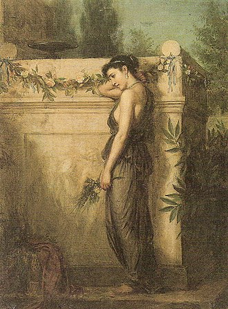 John William Waterhouse - Image: Gone But Not Forgotten John William Waterhouse