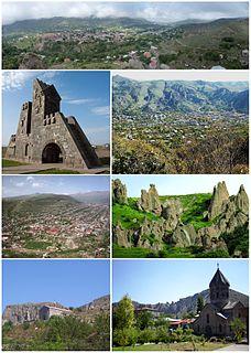 Goris Town in Syunik, Armenia