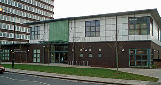 West Gosforth - The new Gosforth Library