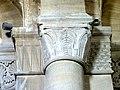 Gournay-en-Bray (76), collégiale St-Hildevert, bas-côté nord, chapiteaux du 1er pilier libre, côté nord.jpg