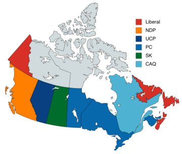 Ten Provinces Of Canada Map Provinces and territories of Canada   Wikipedia